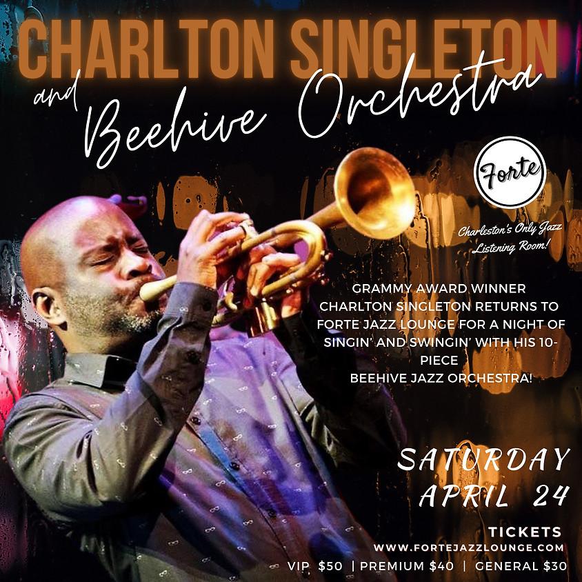 GRAMMY Winner Charlton Singleton & The Beehive Jazz Orchestra | 9:30pm-11:00pm