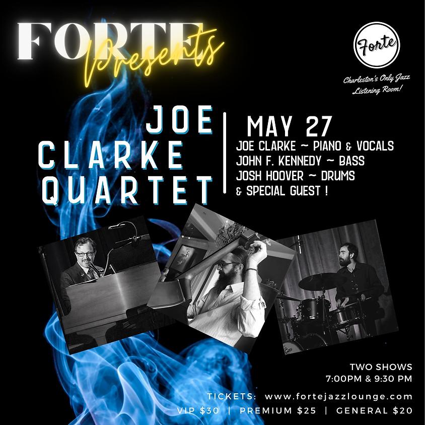 Forte Presents: Joe Clarke Quartet | 7:00pm - 9:00pm