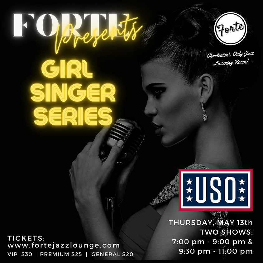 Armed Forces Week: Girl Singer Series | 9:30pm - 11:00pm