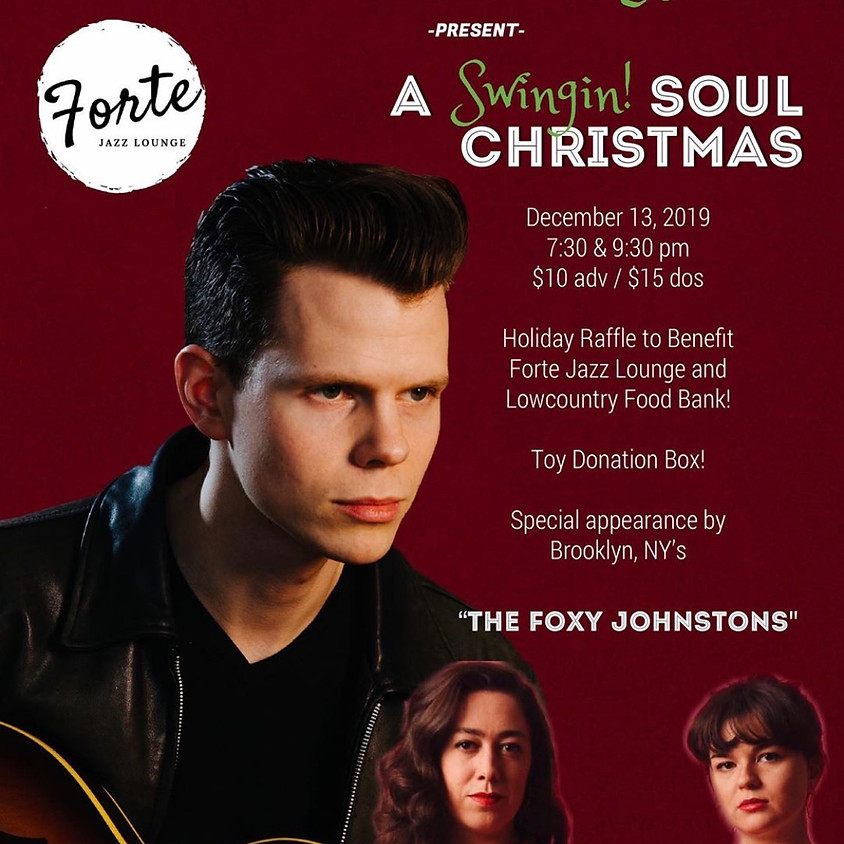 Kyle Lacy Band presents A Swingin Soul Christmas  |  9:30pm-11:30pm