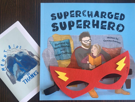 'Supercharged Superhero' by Gemma Everson - My Review