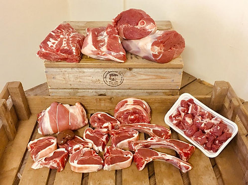 Grass Fed Free Range Hogget in a Box