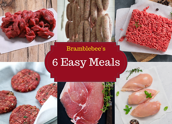 Bramblebee's 6 Easy Meals