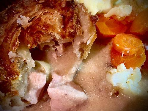 Bramblebee's  venison & Bacon Pie