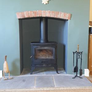 Log Burner Installation by ICS