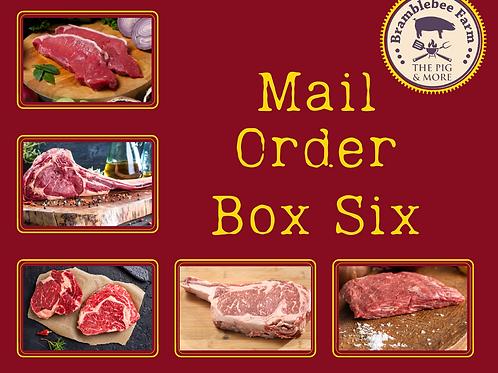 Mail Order Box 6 - The Steak Box