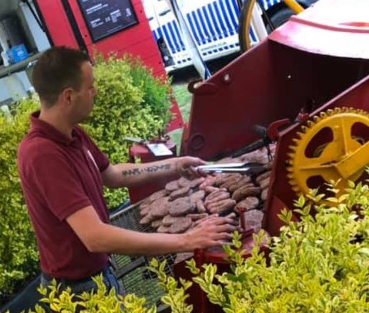 ramblebee Farm Tractor BBQ Catering