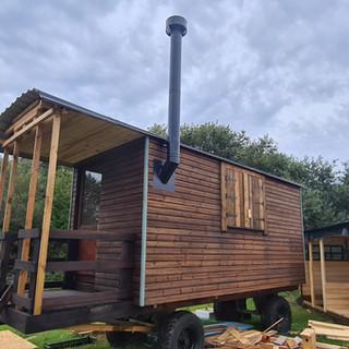 Gypsy Wagon installation