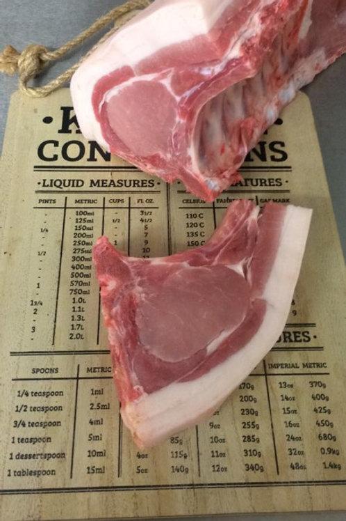Pork Chops on the Bone