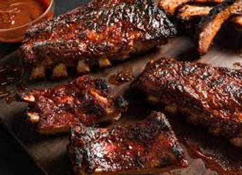 Pork Spare Ribs In BBQ Sauce