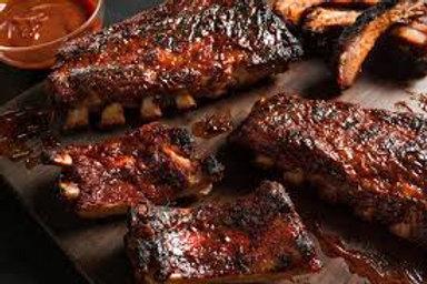 Pork Spare Ribs In BBQ Sauce