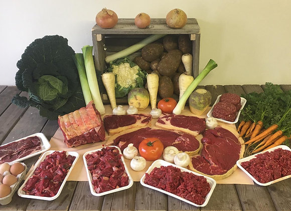 Premium Grass Fed Aberdeen Angus Beef Box