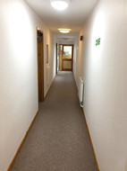 Commercial Corridor Painting