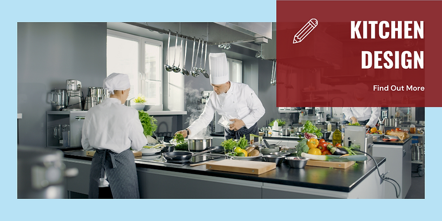 two chefs in a commercial kitchen