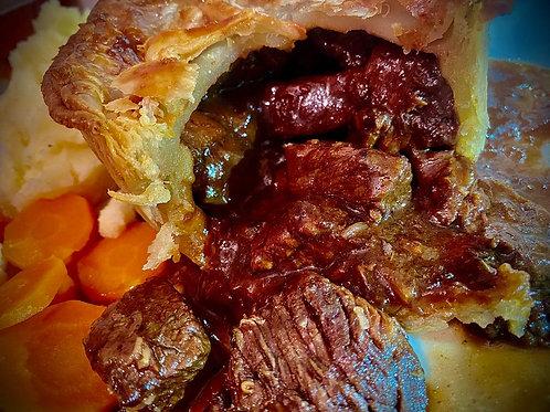 Bramblebee's Steak & Real Ale Pie