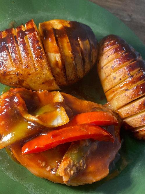 Boston BBQ Pork Steaks