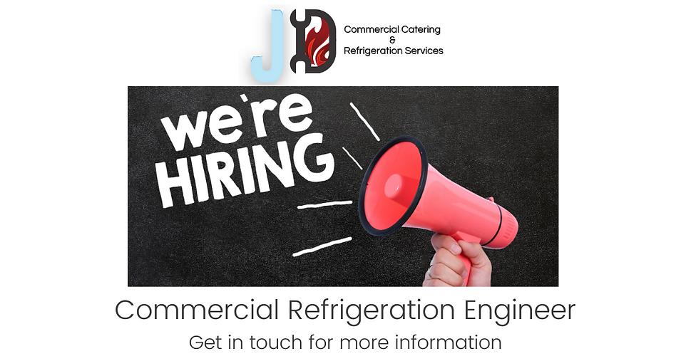 commercial refrigeration engineer FB job