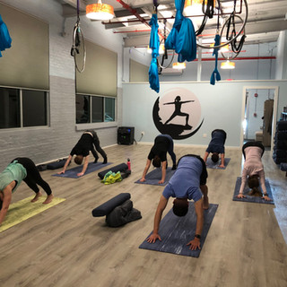 YogaInWaves studio yoga
