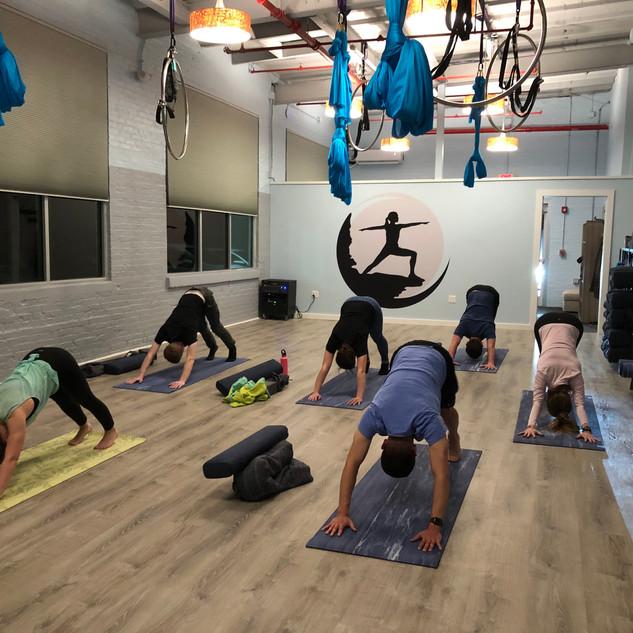YogaInWaves studio yoga