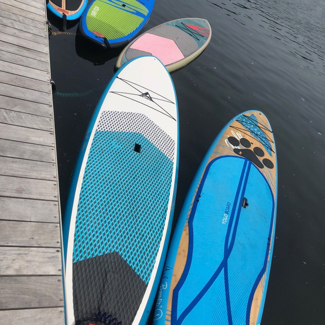 Yoga In Waves paddle boards
