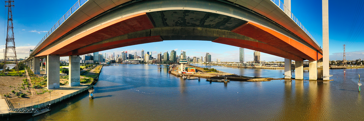 Bolte Bridge panorama
