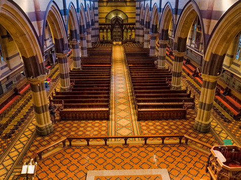 St Pauls Cathedral interior 1