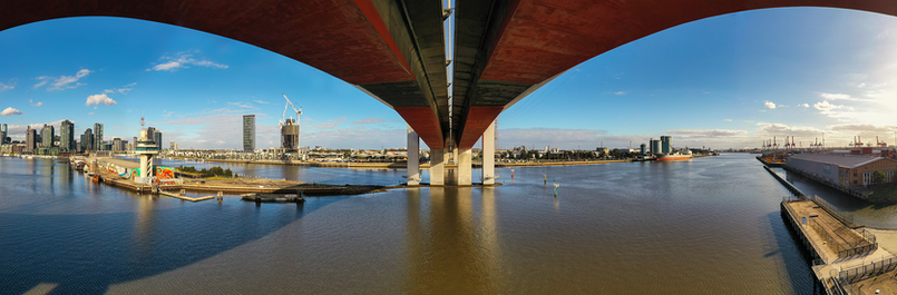 Bolte Bridge Pano