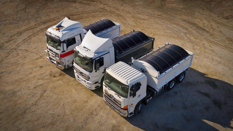 Saab Steel truck bodies