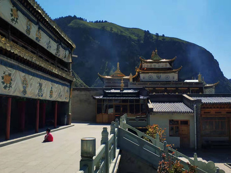 Cross Dola Rangmo/Mt Qilian