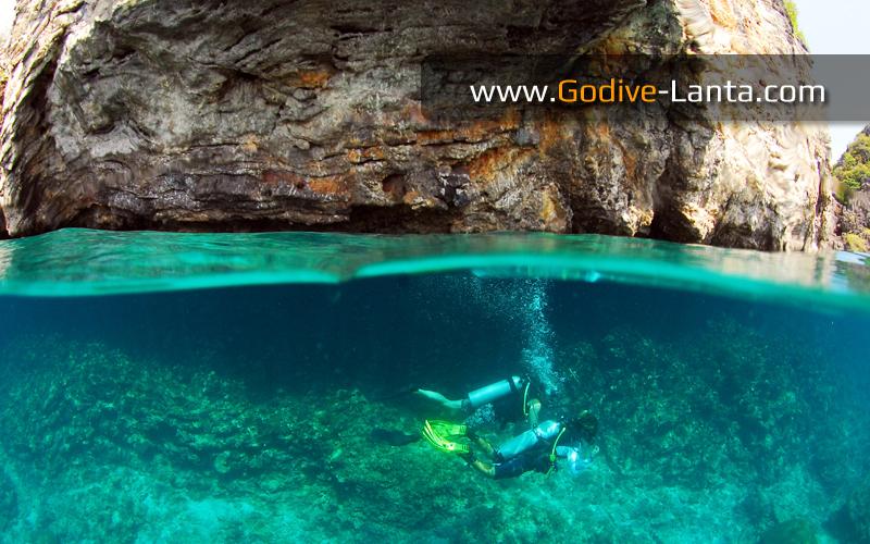 Diving Koh Haa Islands #1
