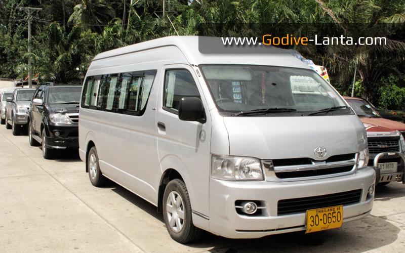 Private Van 3'500 THB /Van/Way