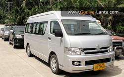 Private Van 2'500 THB /Van/Way