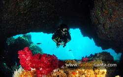 Koh Haa Islands #1 Swim though