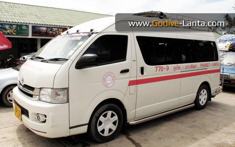 Public Van Phuket - Koh Lanta