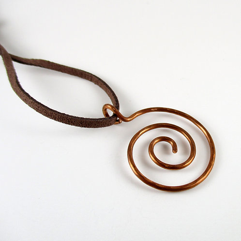Spiral Way Necklace