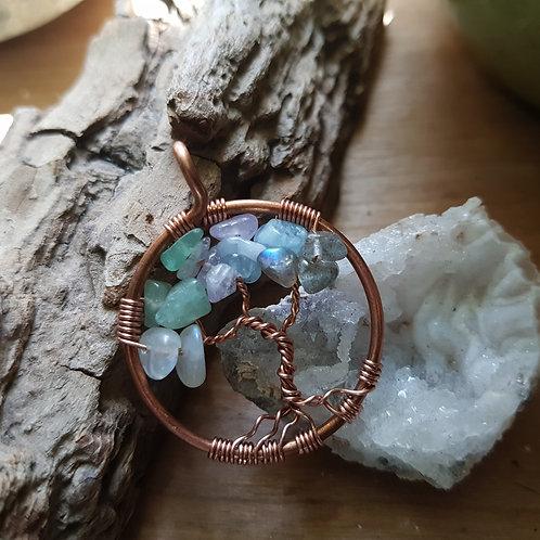 Mini Copper Family Tree - (max 5 family members)