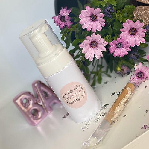 Eyelash shampoo & Clensing brush