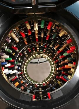 Mark 2 Wine Cellar Pod Underground wine cellar racks.