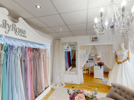 Beautiful Lily Rose boutique captured with a 360 tour and images.