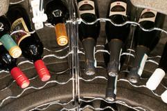 Chrome racking, 112 Bottles.