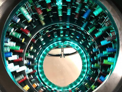 New 112 Bottle Chrome Racking