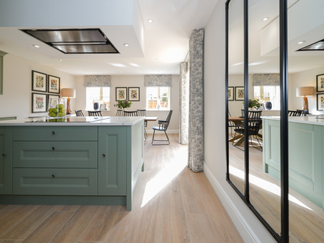 Lagan Homes, Chipping Campden stunning show home. Interiors by Rasalo