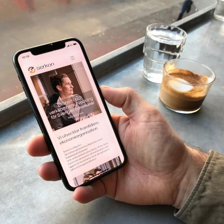 Serkon lanserar ny logga och ny webb