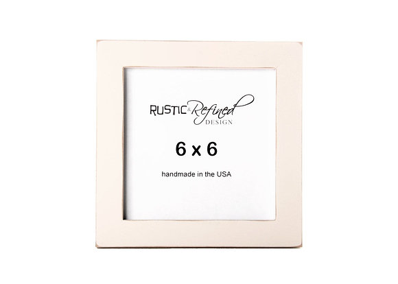"6x6 1"" Gallery Picture Frame - Off White"