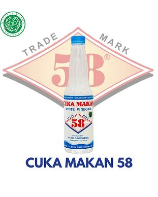 Cuka Makan 58 Halal