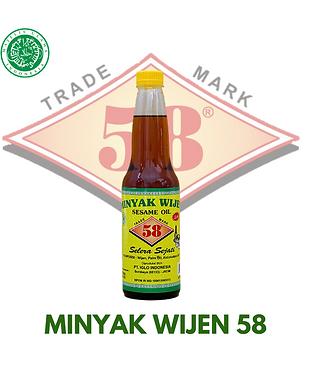 Minyak Wijen 58 Halal