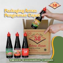 Packaging Saos 58 Dijamin Aman