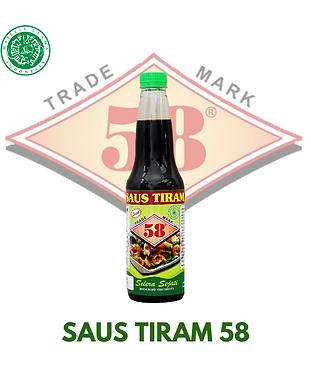 SAUS TIRAM 58 HALAL