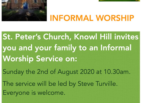 Services restart at St. Peter's Church