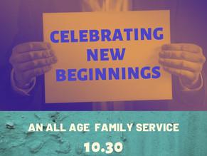 St. Peter's Celebrating New Beginnings